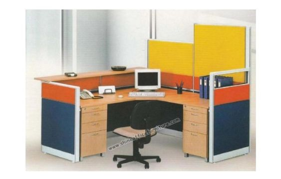 Partisi Kantor Exclusive Series Alt.10 uno_workstation_secretary